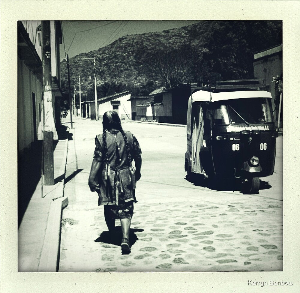 Streets of Ocotlan     by Kerryn Benbow