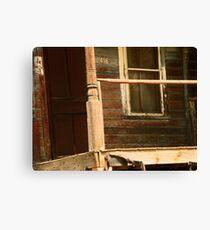 Abandoned House, Abandoned Porch Canvas Print