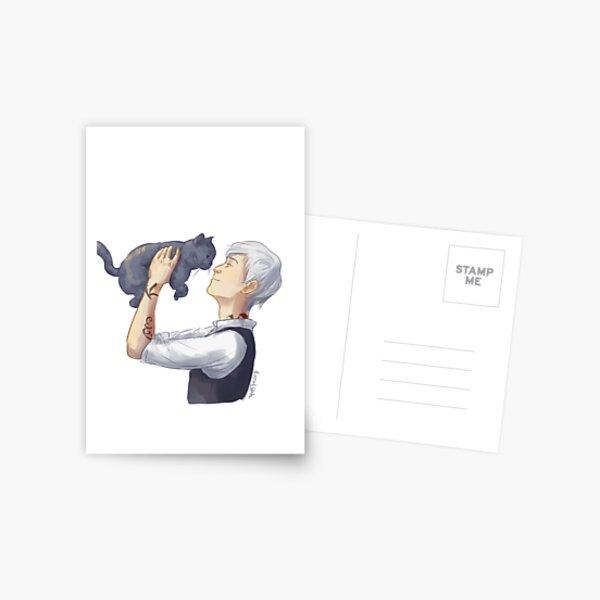 Jem and Church Postcard