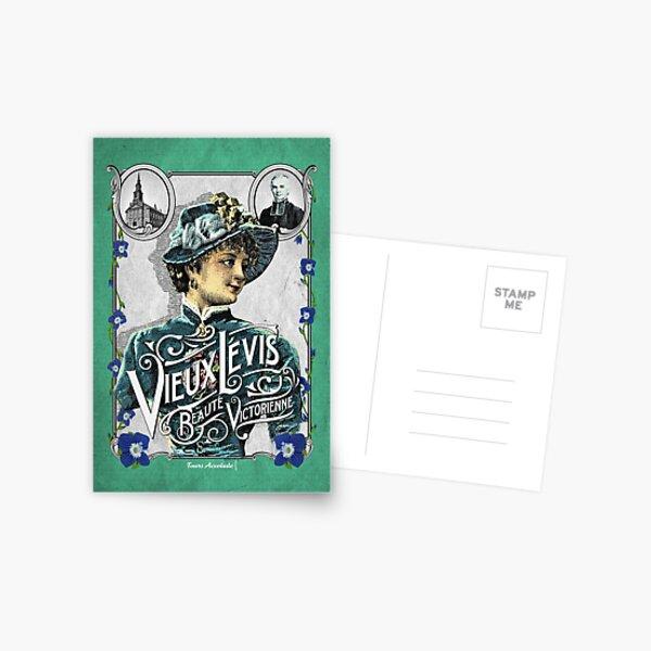 Vieux-Lévis: beauté victorienne Carte postale