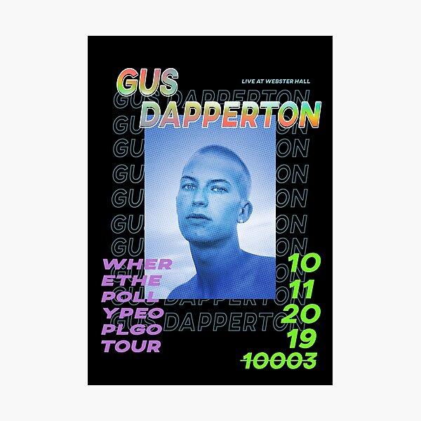 Gus Dapperton Poster Photographic Print