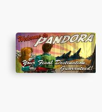 Welcome to Pandora Canvas Print
