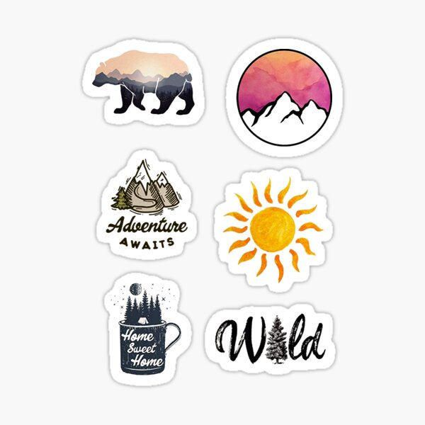 Nature Pack Sticker