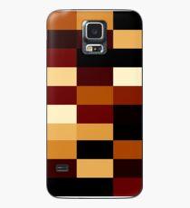 Erdfarben Hülle & Klebefolie für Samsung Galaxy