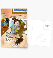 Get Well Soon! Postcards