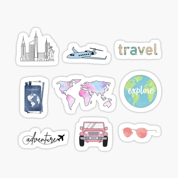 Reisepaket Sticker