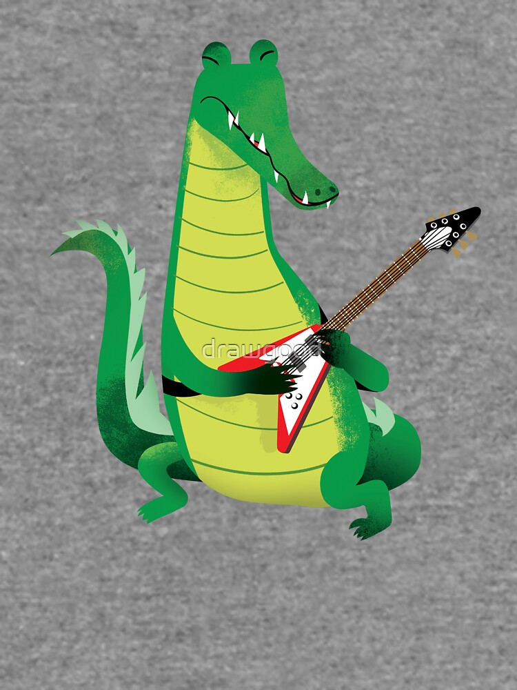 Crocodile Rock by drawgood