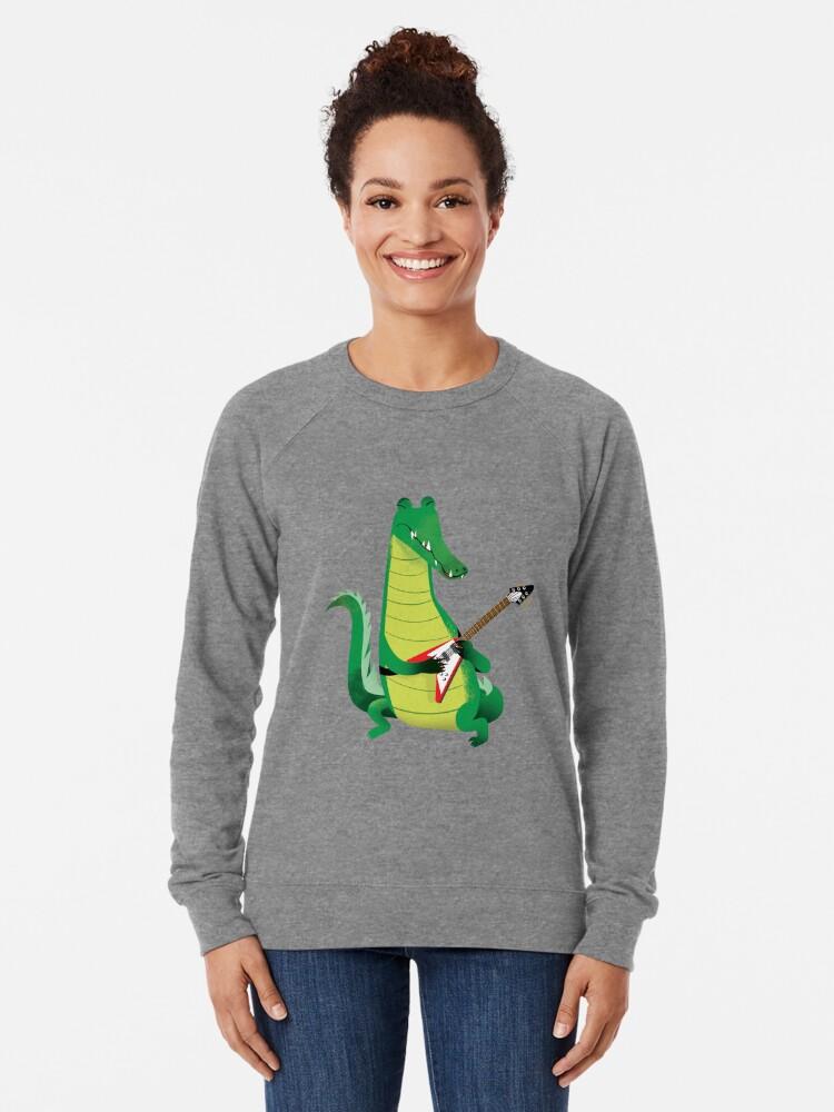 Alternate view of Crocodile Rock Lightweight Sweatshirt