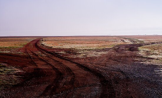 Two Roads Two Roos and too Far by Hedoff