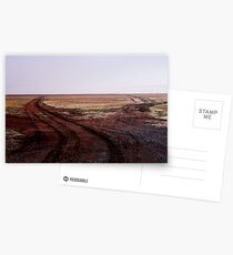 Two Roads Two Roos and too Far Postcards