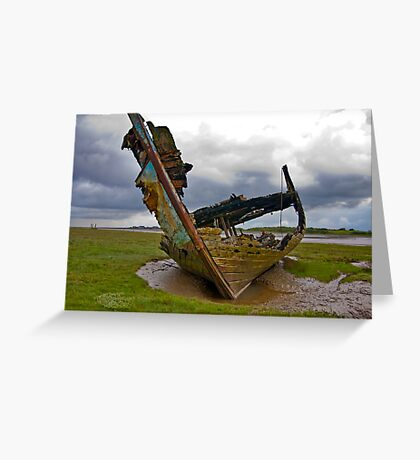Left to Rot - Fleetwood Wrecks Greeting Card