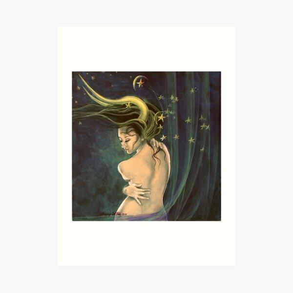 """Taurus"" - ...from ""Zodiac signs"" series Art Print"