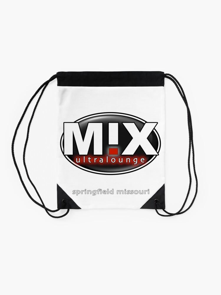 Alternate view of Mix Ultralounge Original Logo Drawstring Bag