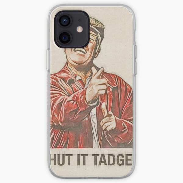 Winston Ingram Shut it Tadger iPhone Soft Case