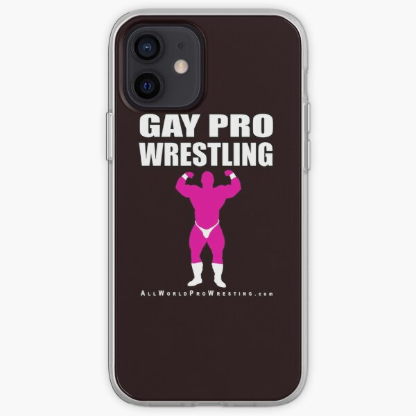 GAY PRO WRESTLING MUSCLEBOY iPhone Soft Case