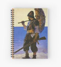 Robinson Crusoe  Spiral Notebook