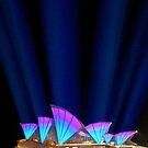 Sydney Vivid Lightshow by Melissa Fiene