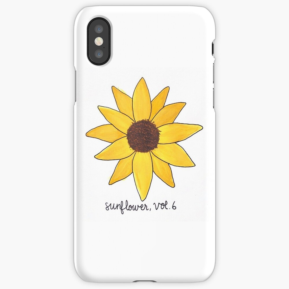 """""""Harry Styles """"Sunflower, Vol. 6"""""""" iPhone Case & Cover by ..."""