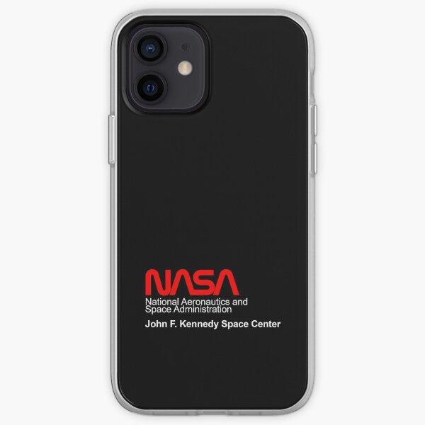 Capsule NASA (Space Voyager) TOUT-NOIR Coque souple iPhone