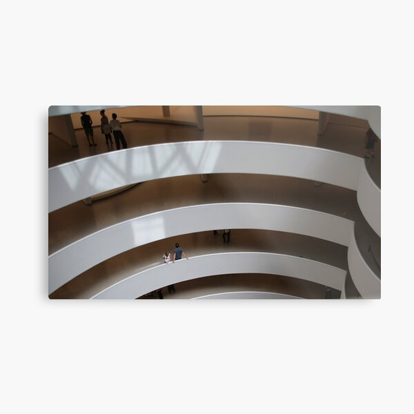 Interior, Guggenheim Museum, New York, USA Metal Print