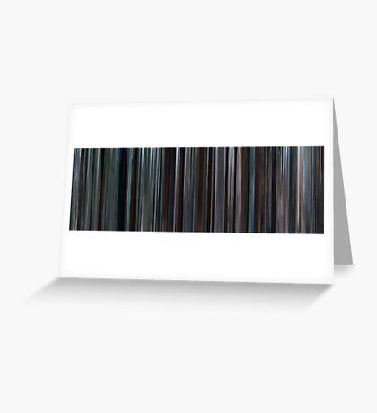 Moviebarcode: Brokeback Mountain (2005) Greeting Card