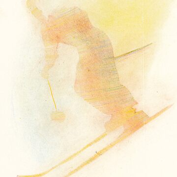 summer dream, skiing in warm colors by candygun