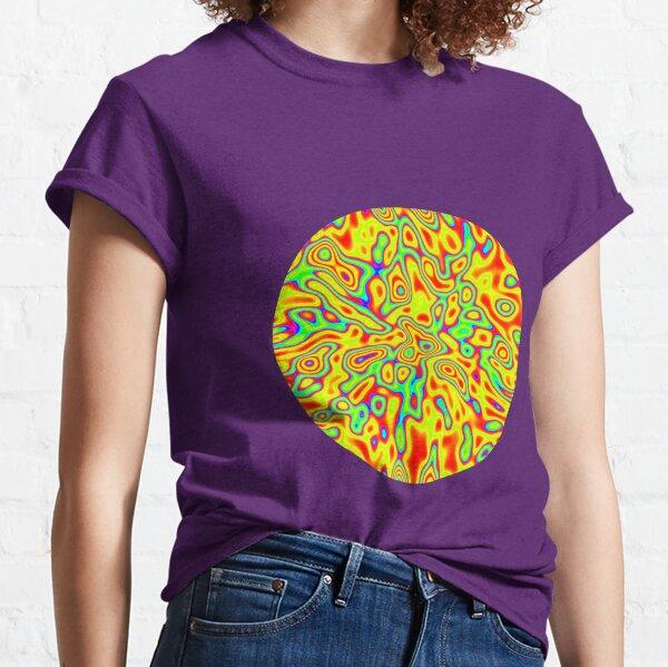 Activity | Abstract random colors #10 Classic T-Shirt