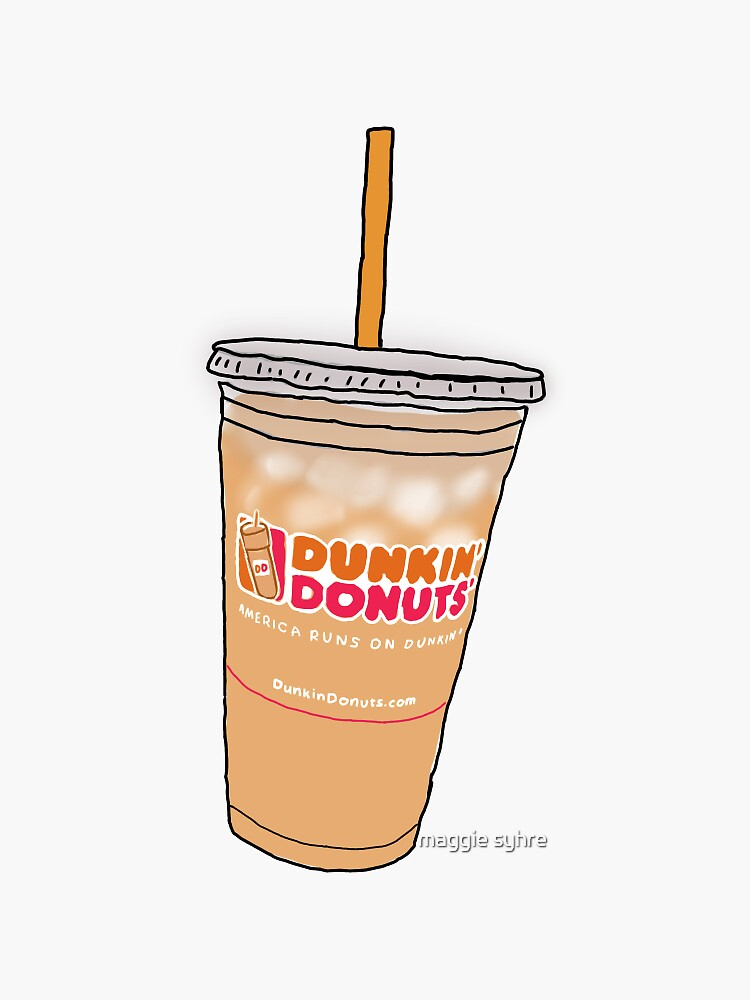 Dunkin' Dounts' iced coffee by maggiesyhre