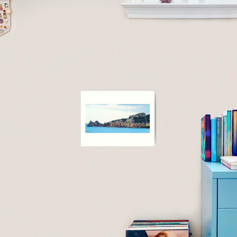 A View of Porto Venere Art Print