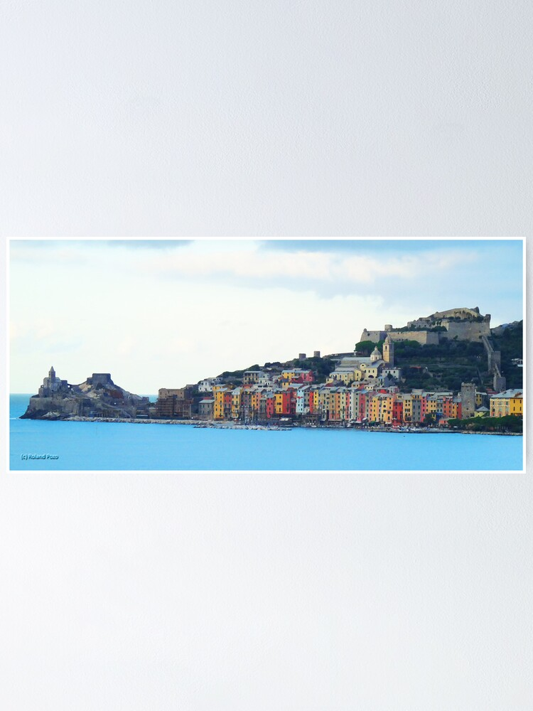 Alternate view of A View of Porto Venere Poster
