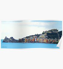 A View of Porto Venere Poster