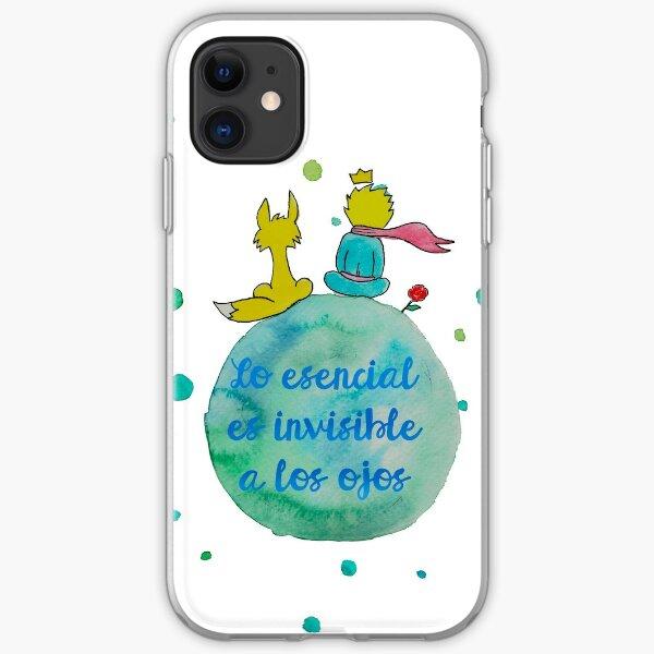 tolle Phrase des kleinen Prinzen. iPhone Flexible Hülle