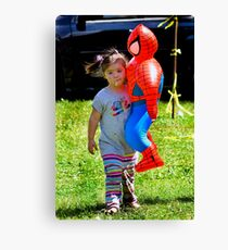 Spider Girl Canvas Print