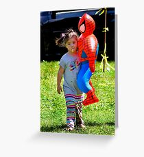 Spider Girl Greeting Card