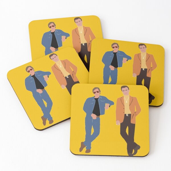 Once upon a time in Hollywood Coasters (Set of 4)