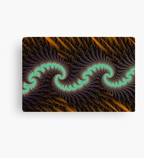 Quill Wave Canvas Print