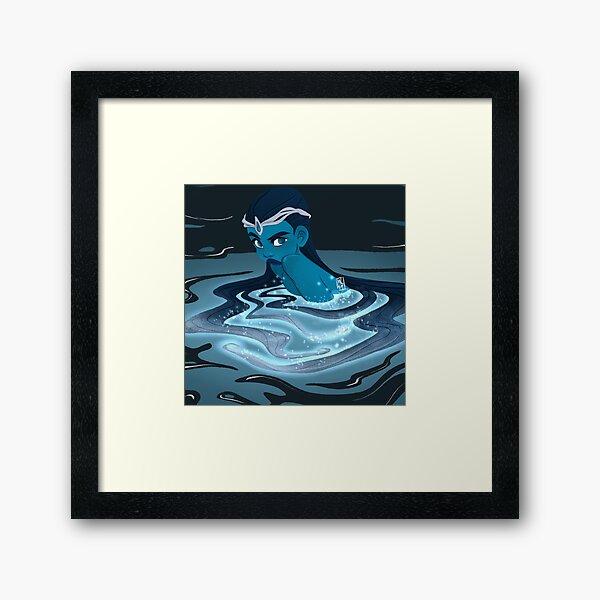 Water Goddess Framed Art Print