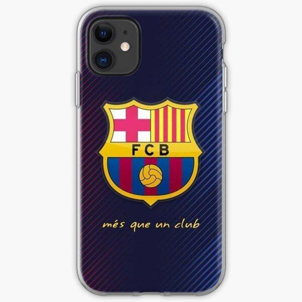 FC Barcelona Escudo iPhone Soft Case