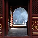 Beijing - Chinese door by Jean-Luc Rollier
