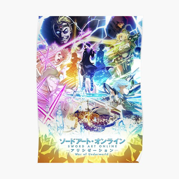 Sword Art Online Alicization: War of Underworld Poster