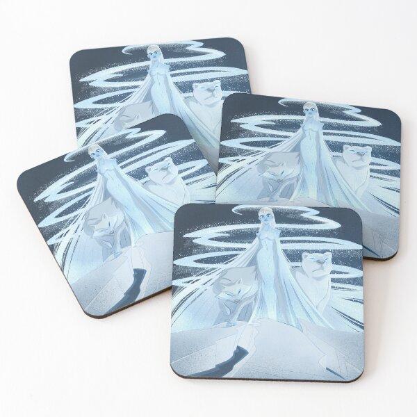 Ice Goddess Coasters (Set of 4)