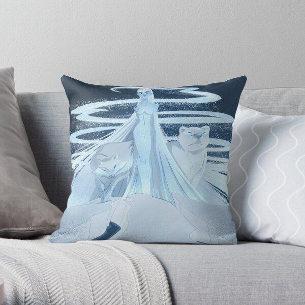 Ice Goddess Throw Pillow