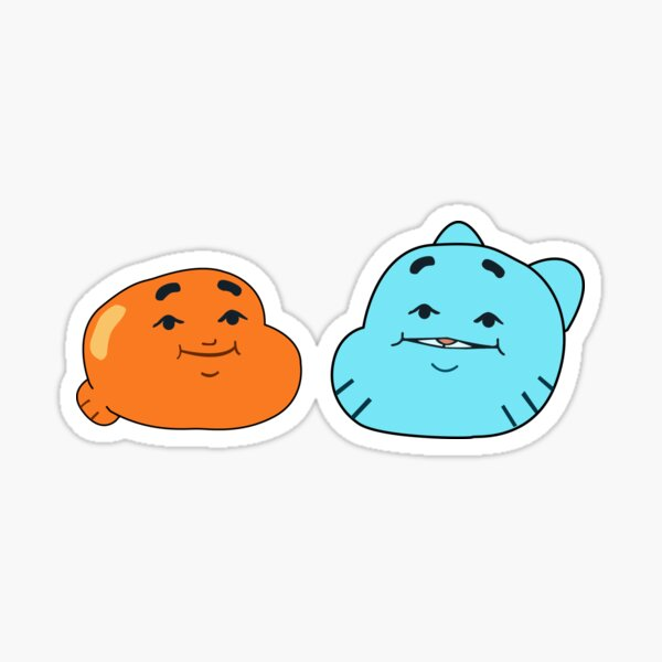 The Amazing World of Gumball™ -  Darwin and Gumball face Sticker