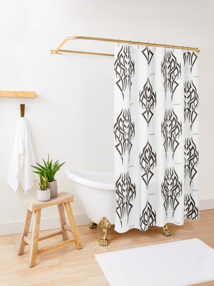 Alternate view of Conformity  Shower Curtain