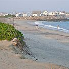 First Day at the Beach at Dusk - Matunuck - Rhode Island by Jack McCabe