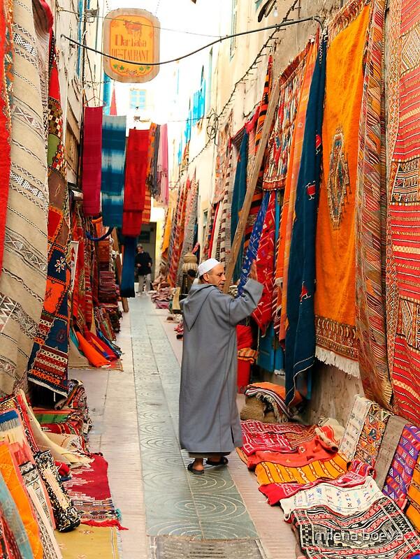 Quot Carpet Market In Morocco Quot By Milena Boeva Redbubble