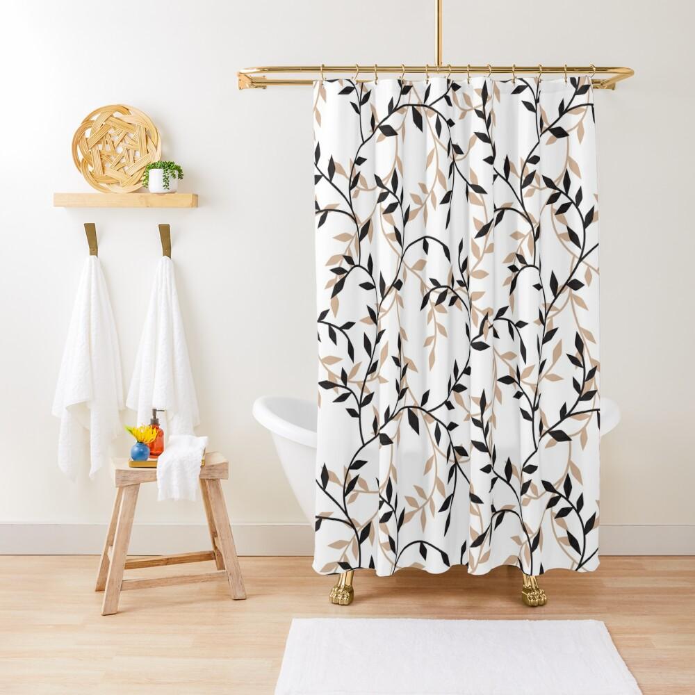 flourish, Autumn decoration Shower Curtain, startachim blog, startachim blog
