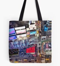 Manhattan in motion - Times Square  Tote Bag