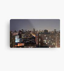 Manhattan in motion - upper west side  Metal Print