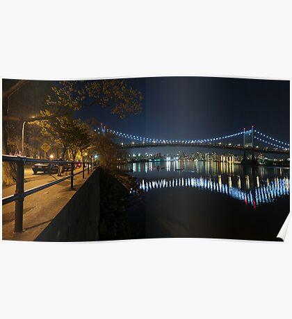 Manhattan in motion - Astoria park Poster